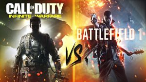 Call of Duty e Battlefield