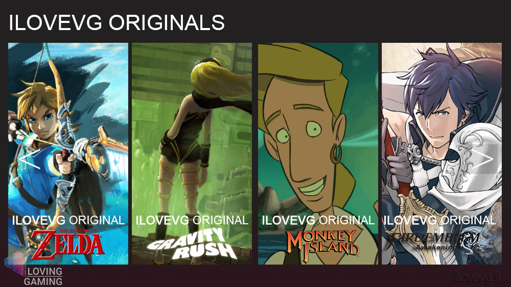 ilovevg originals serie tv