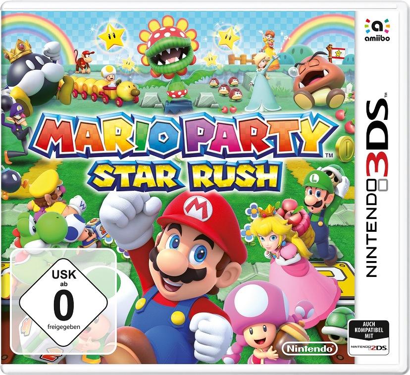 Mario Party: Star Rush nuova box art