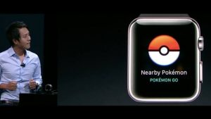 Pokémon GO Apple Watch