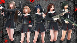 schoolgirl zombie hunter