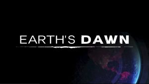 earth's dawn