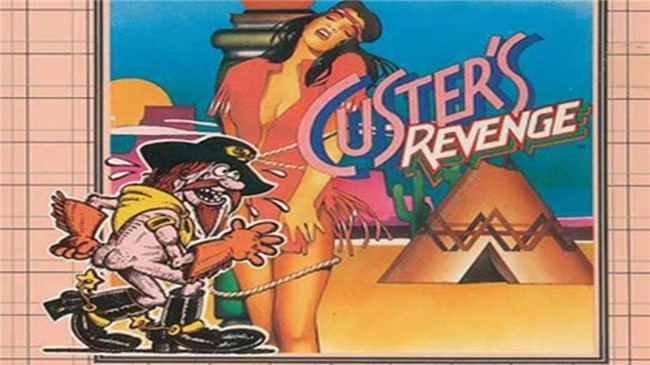 Custer's Revenge Box Art