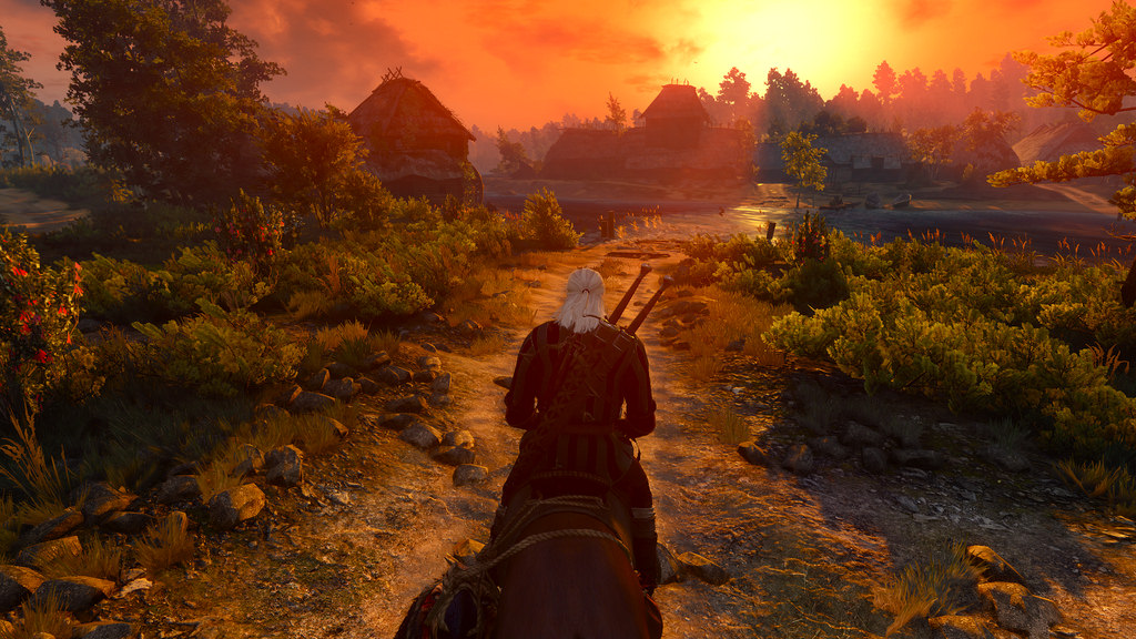 the-witcher-3-sunset