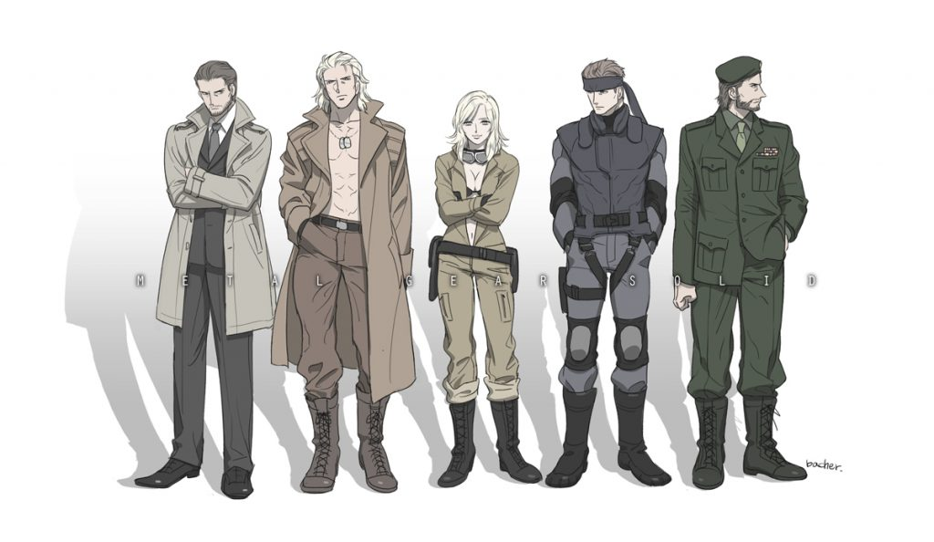 Solid Snake Family