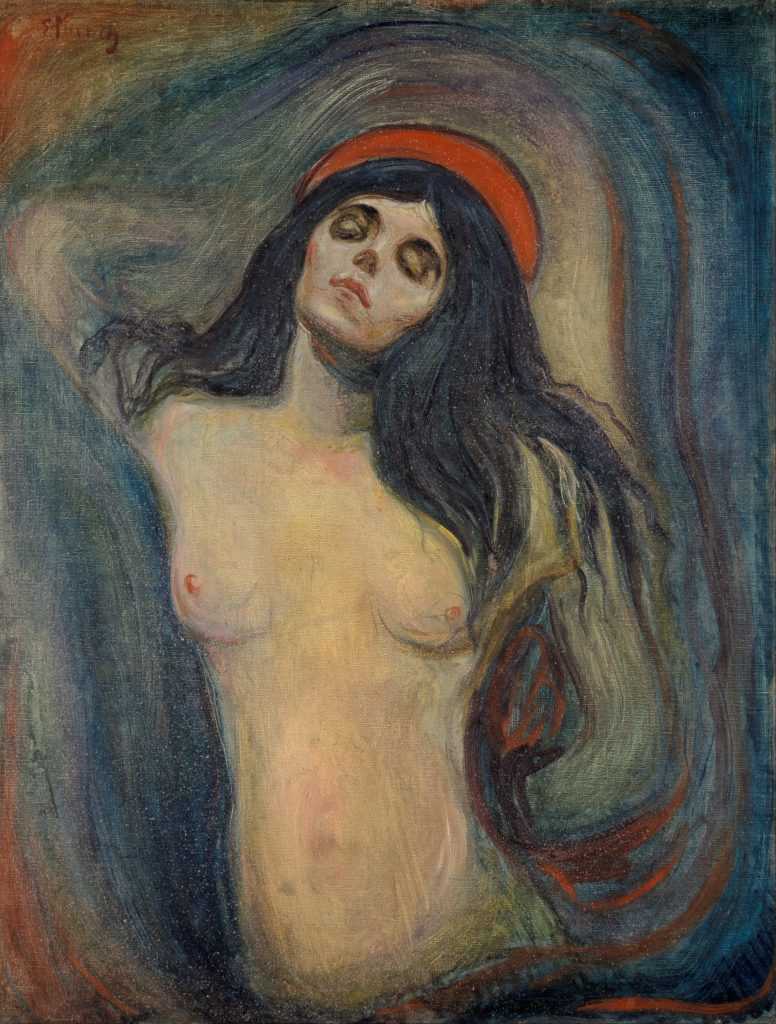 Edvard Munch –Madonna