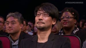 Hideo Kojima The Games Awards 2016