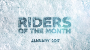 Riders of the Month