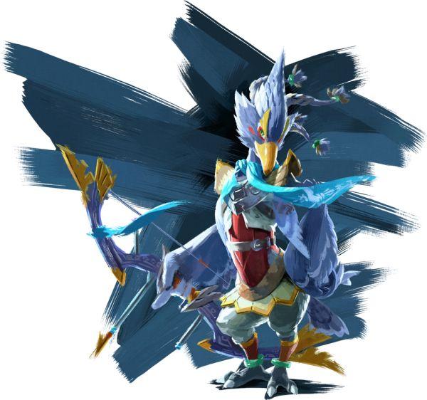 The Legend of Zelda Breath of the Wild Revali