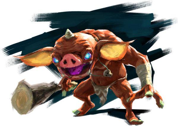 The Legend of Zelda Breath of the Wild Bokoblin