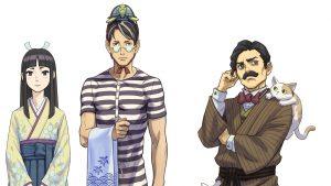 The Great Ace Attorney 2: Personaggi secondari