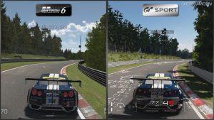 Gran Turismo Sport vs Gran Turismo 6