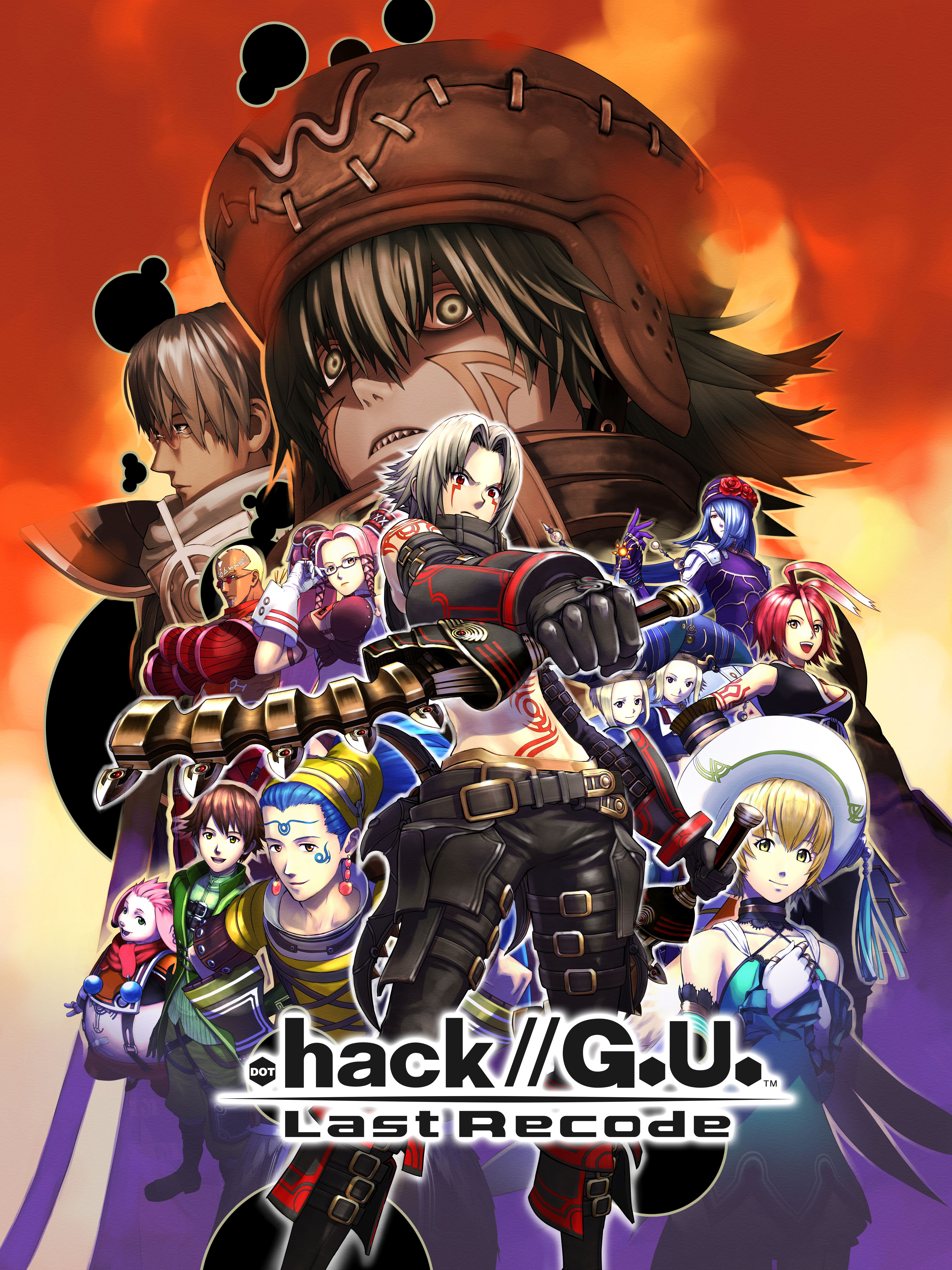 .hack//G.U. last recode key art