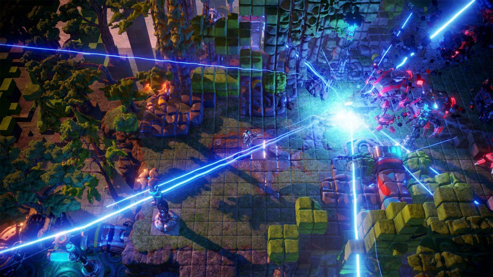 nex machina gameplay