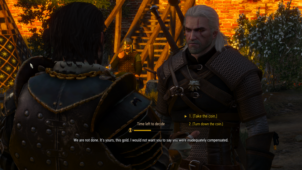 The Witcher Choices