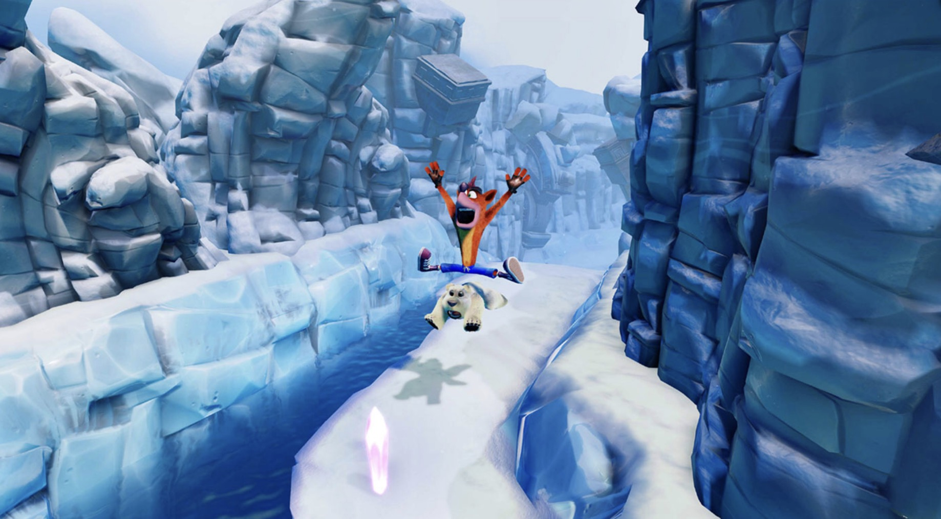 crash bandicoot n. sane trilogy polar
