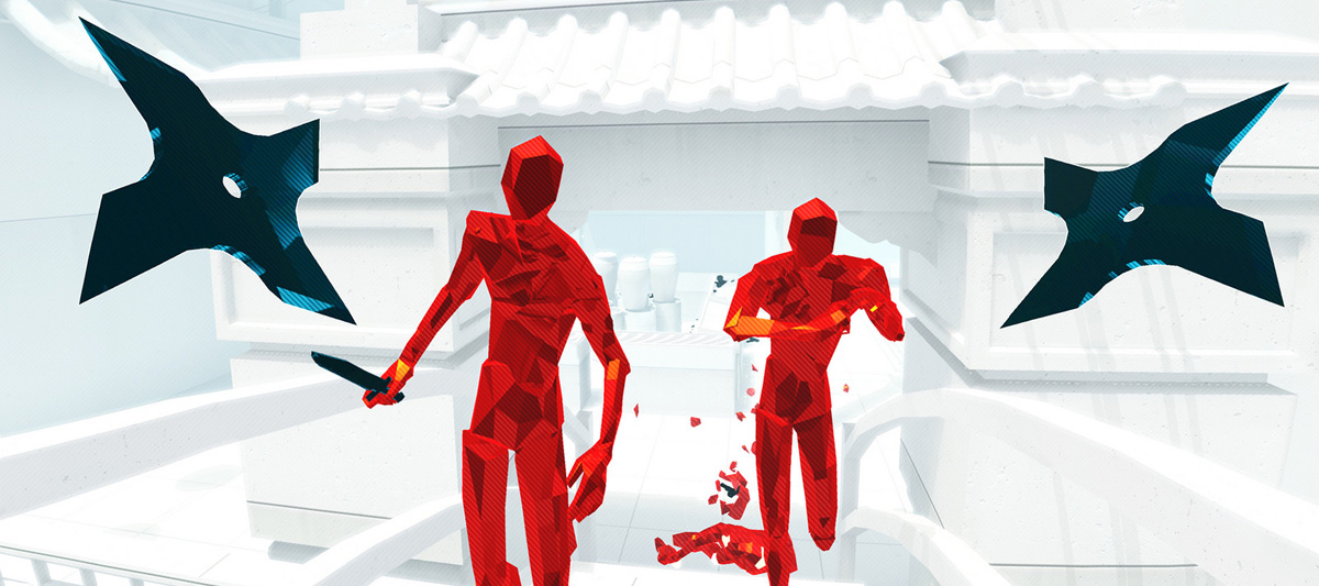 superhot vr gameplay