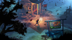 The Flame In The Flood Docks