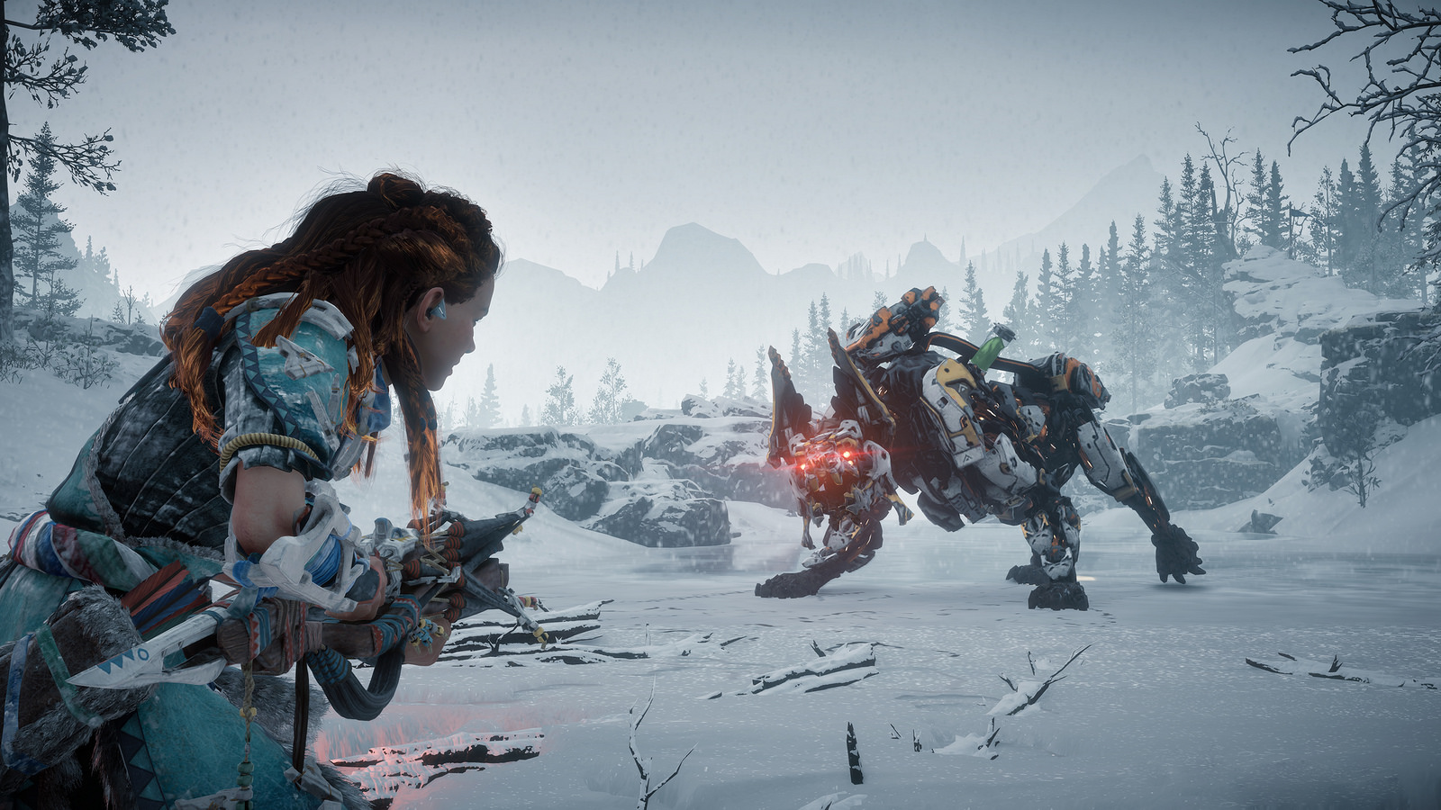 Horizon zero dawn frozen wilds mastino