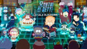 La Sala Ologrammi South Park Scontri di-retti