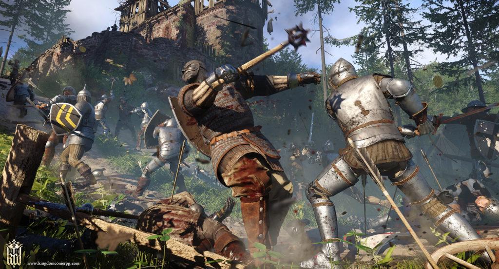 Kingdom Come Deliverance screenshot battaglia combattimento