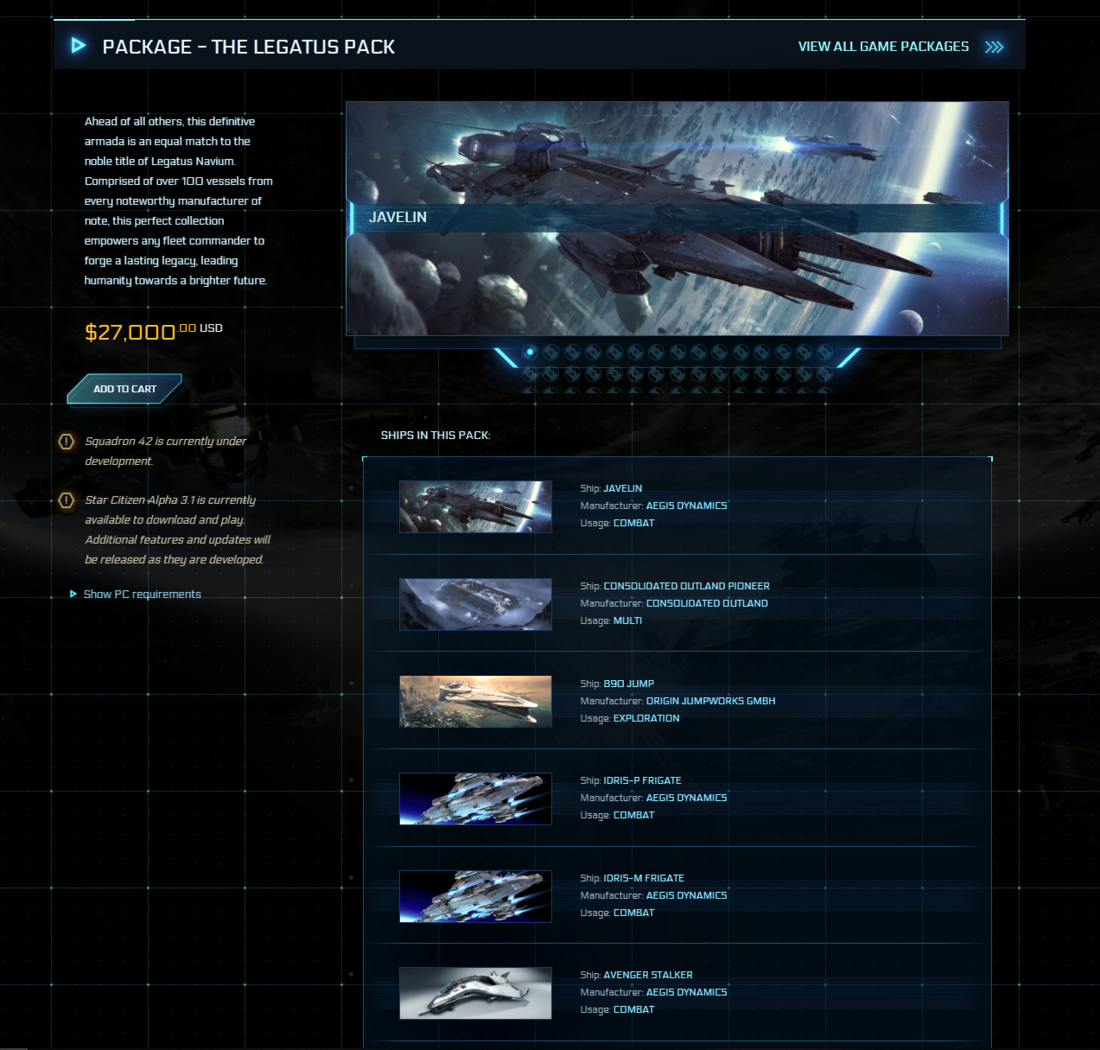 Star Citizen bundle