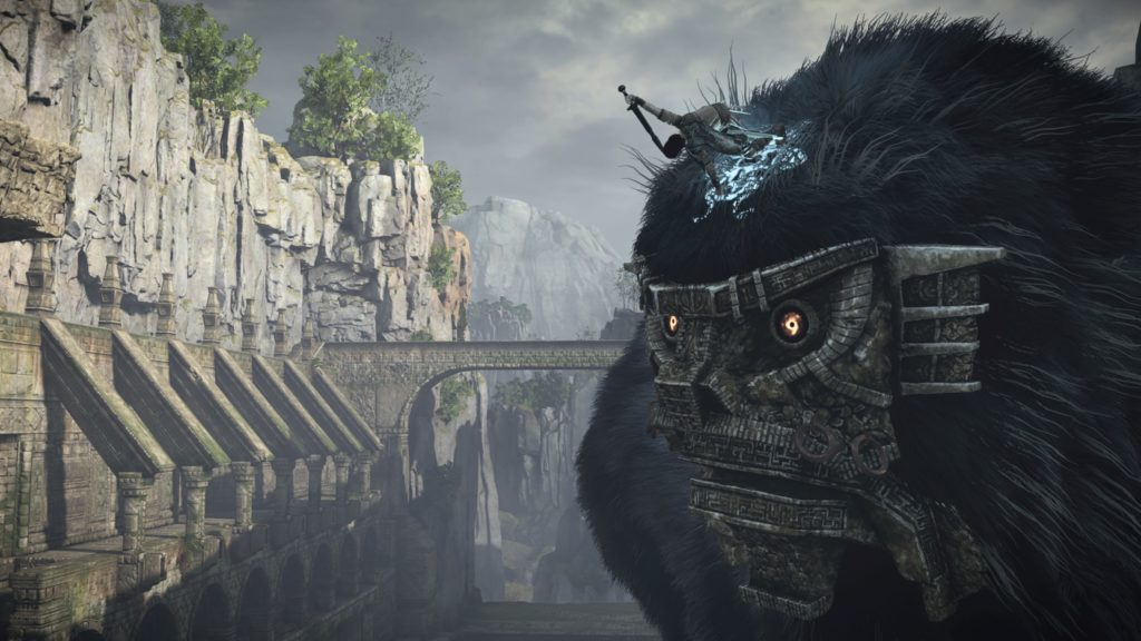 shadow of the colossus narrazione