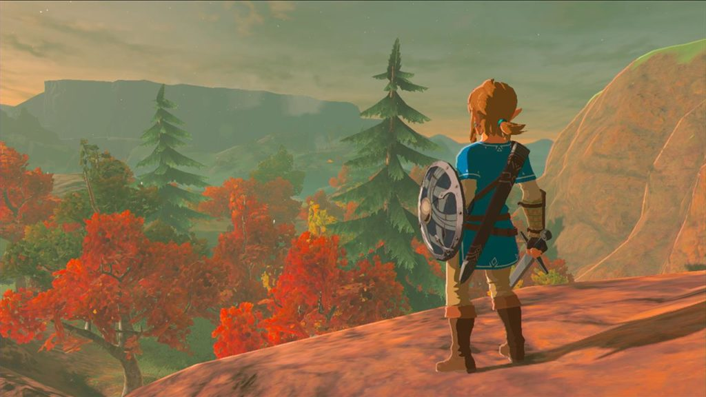 breath of the wild narrazione