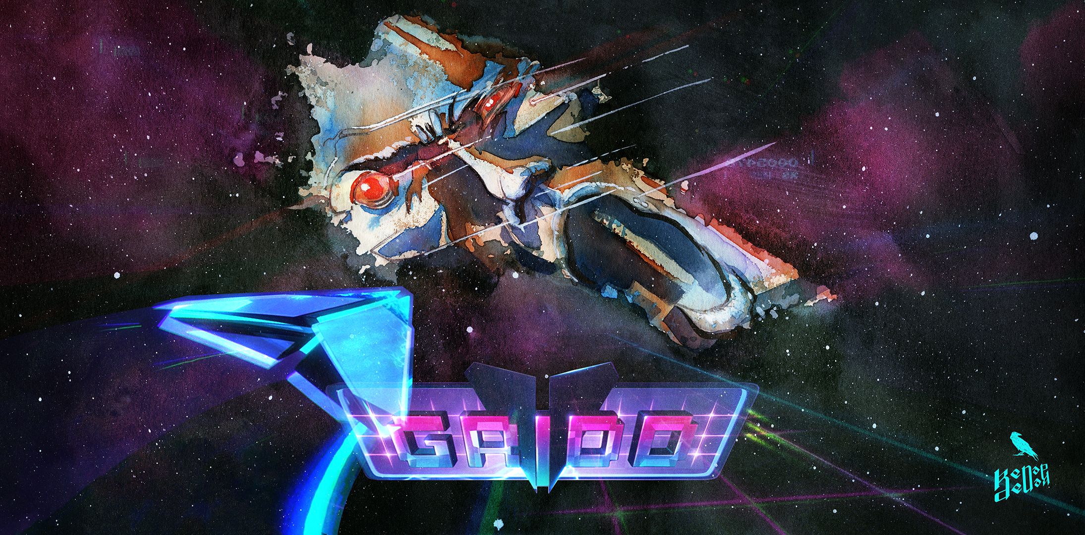 Gridd Retroenhanced magazine cover