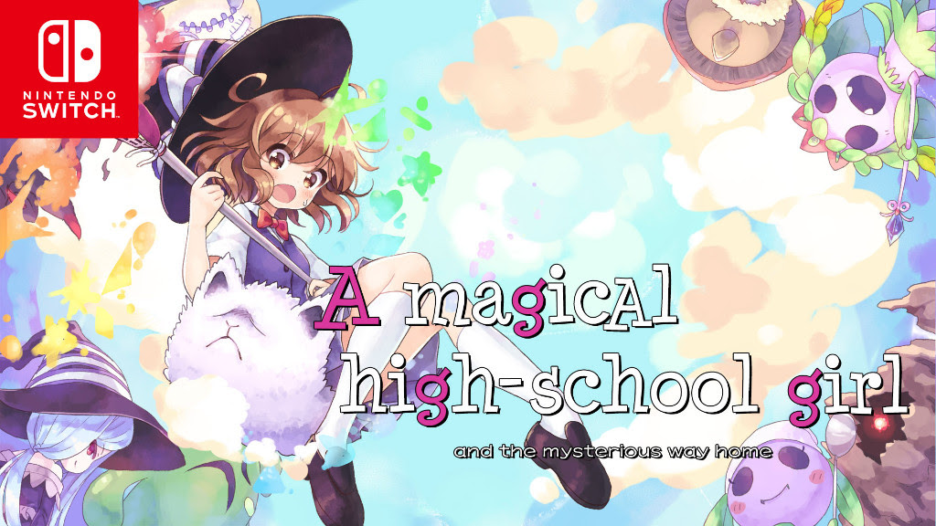 A magical high school girl - sekai games
