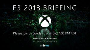 microsoft xbox e3 2018 conferenza