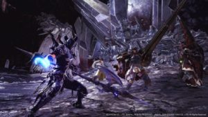 Monster Hunter World Dragoon armor evento Final Fantasy XIV