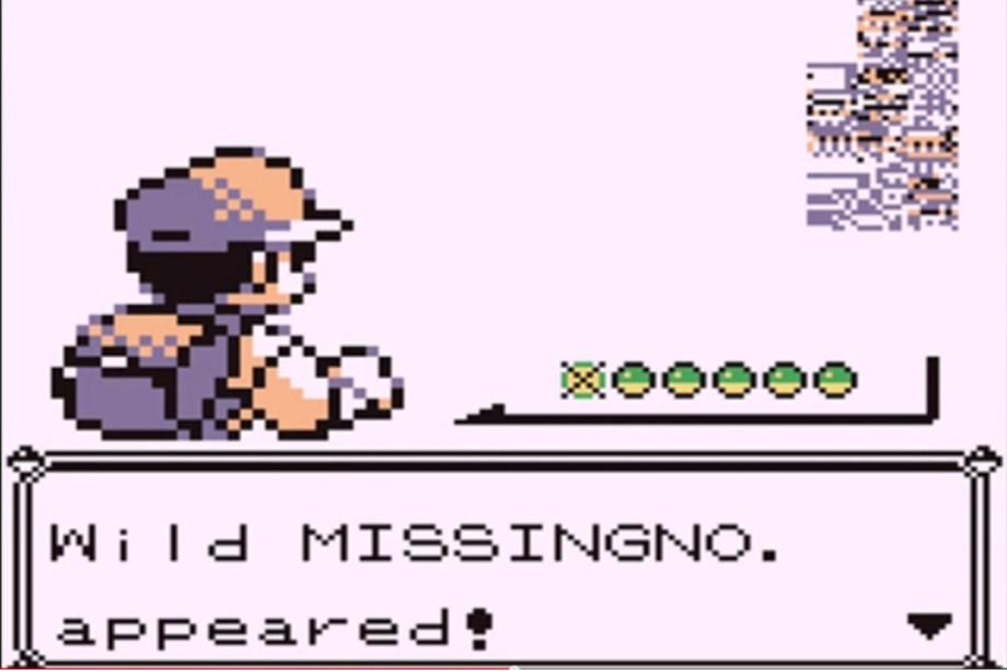 MissingNo nostalgia
