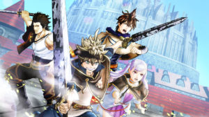 black clover: quartet knight
