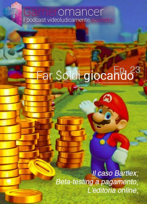 gameromancer 23 cover bartlex soldi giocando