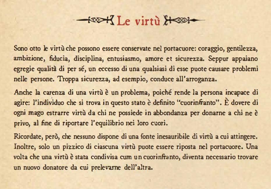 Le Virtù - Ni No Kuni