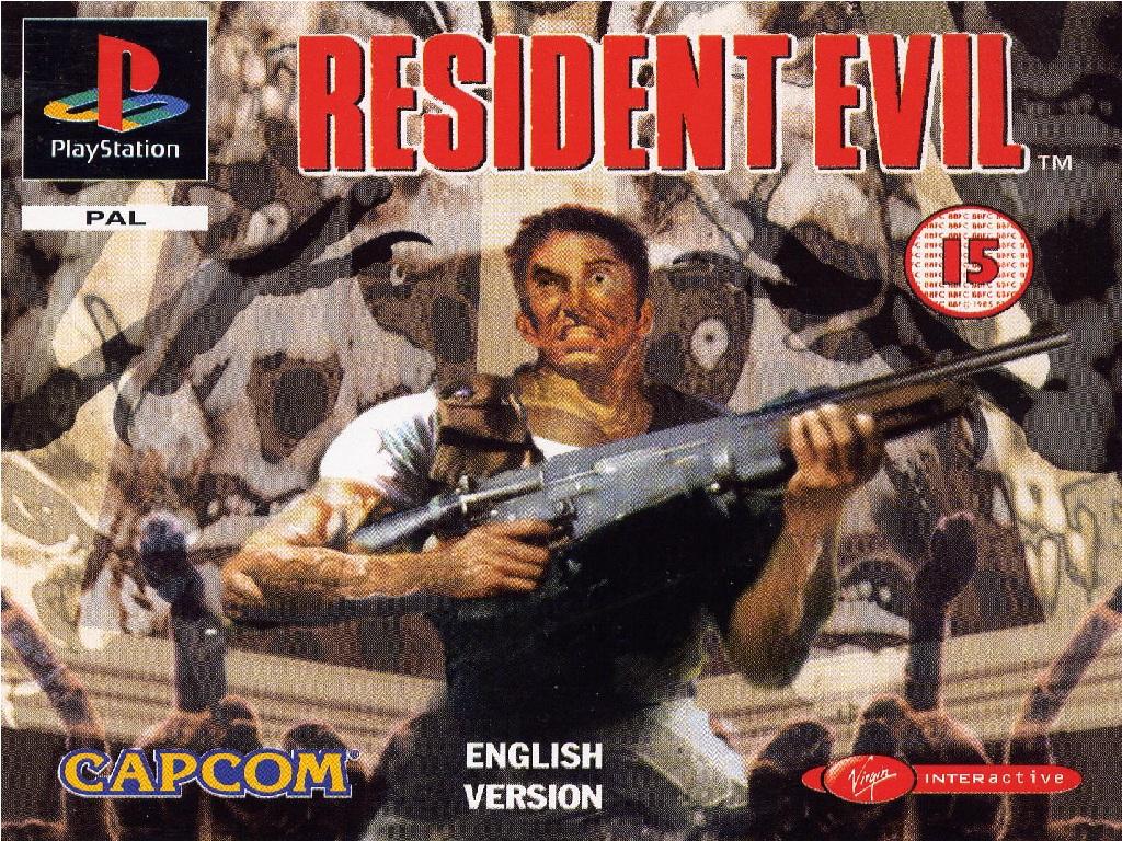 Copertina Resident Evil 1