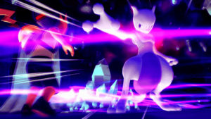 Mewtwo in pokémon Let