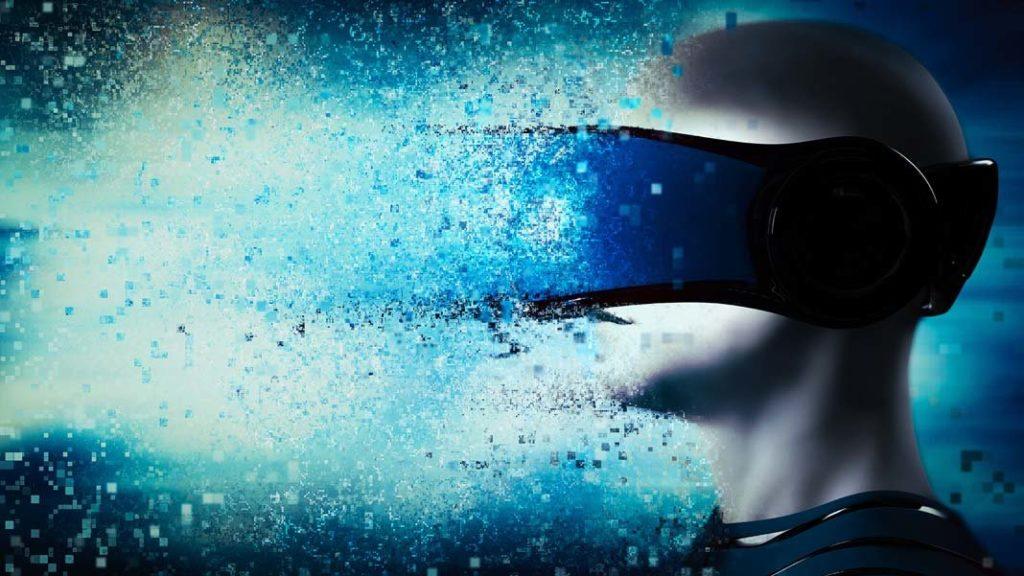 Immagine di un visore di Realtà Virtuale.