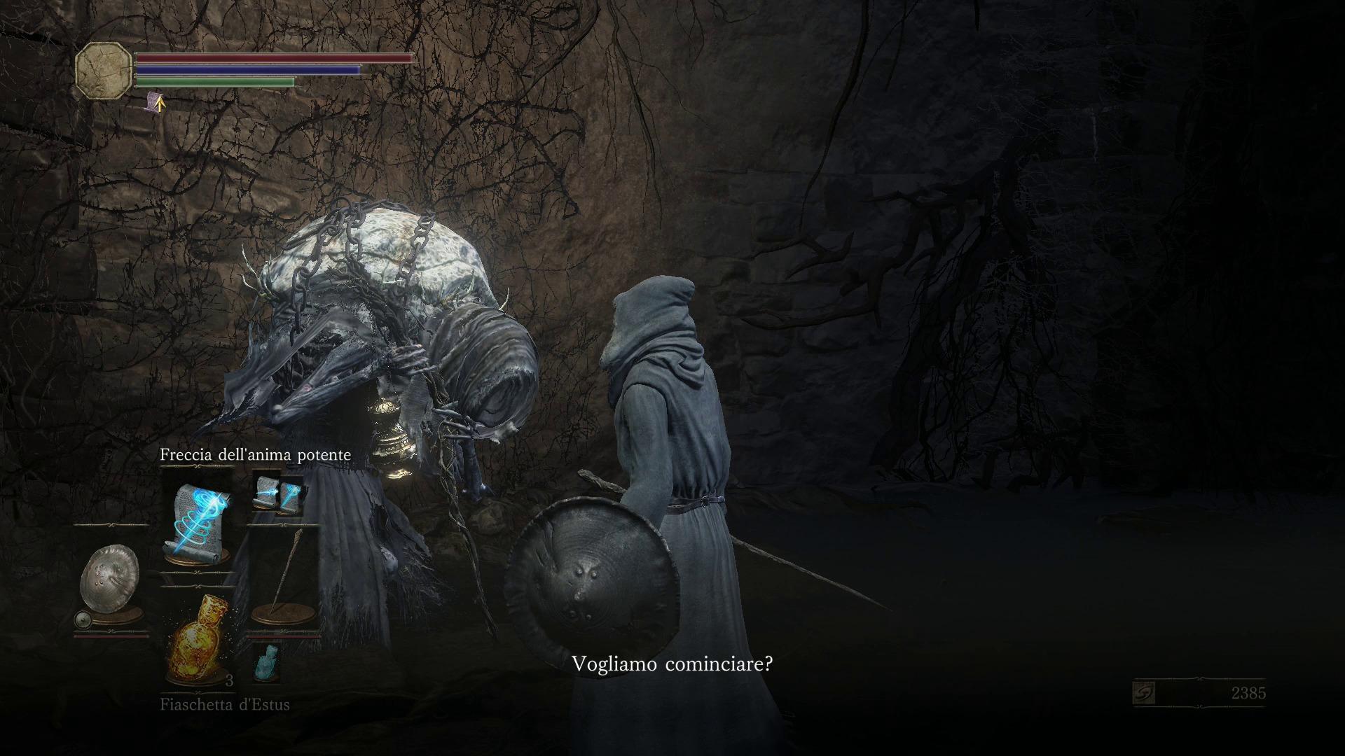 Immagine di Yoel in Dark Souls 3.