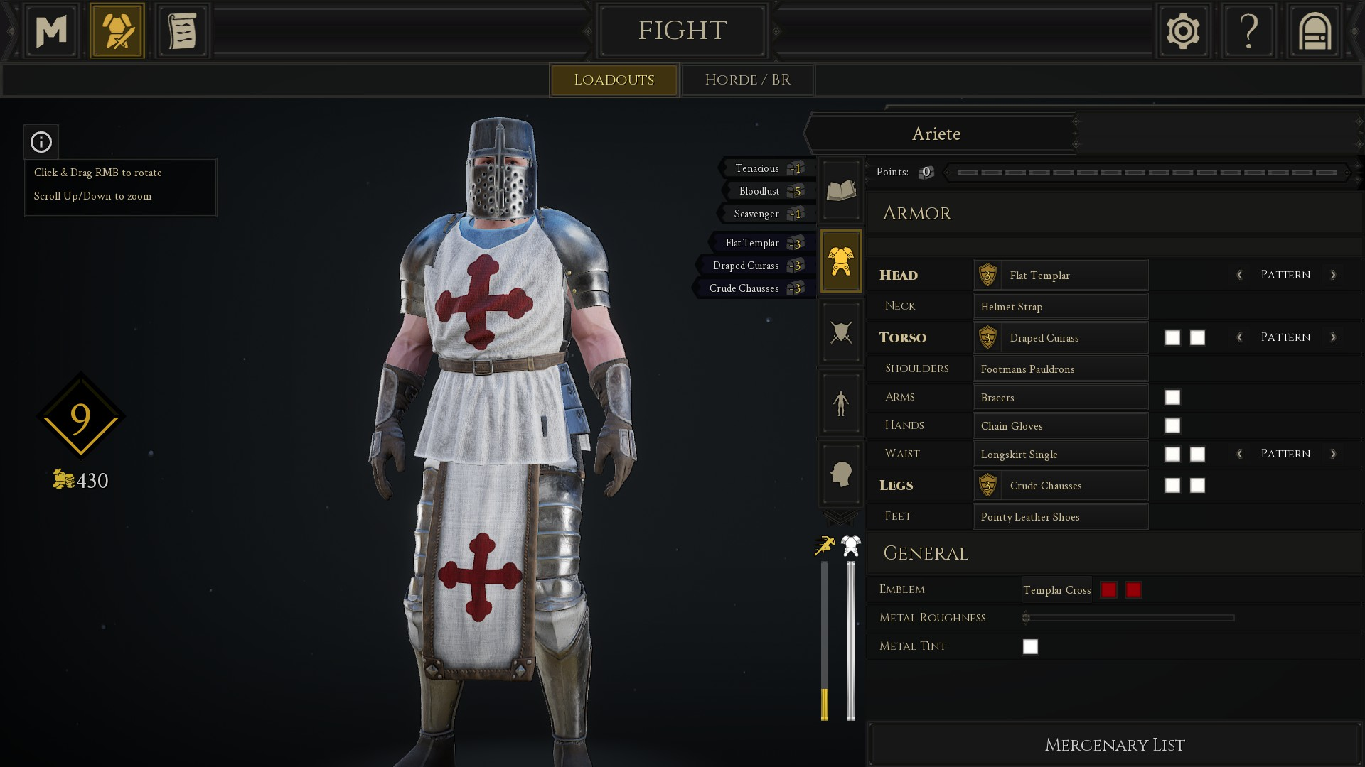 mordhau customization