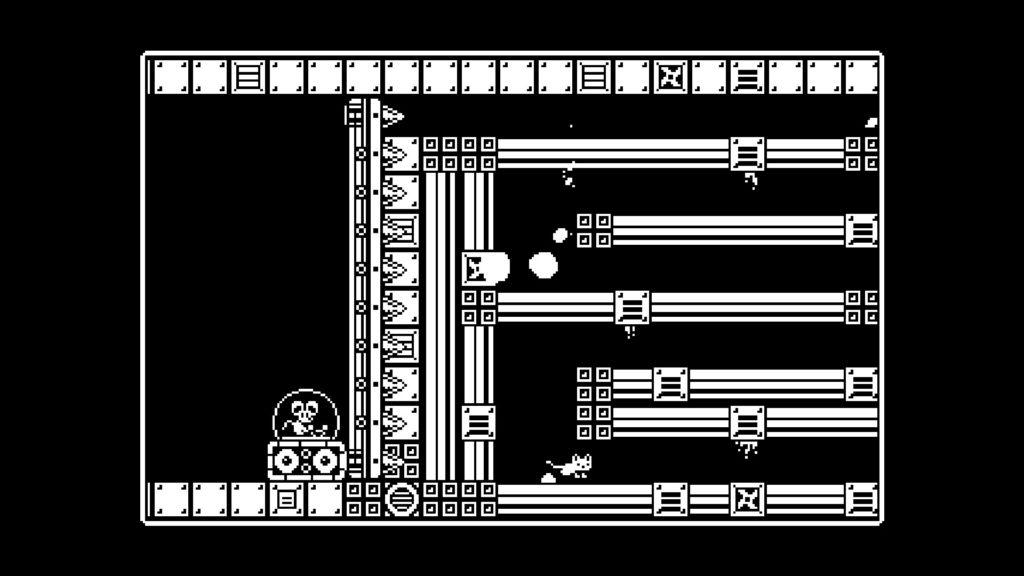 Un topolino, nostro acerrimo nemico, in una delle bossfight più belle del gioco