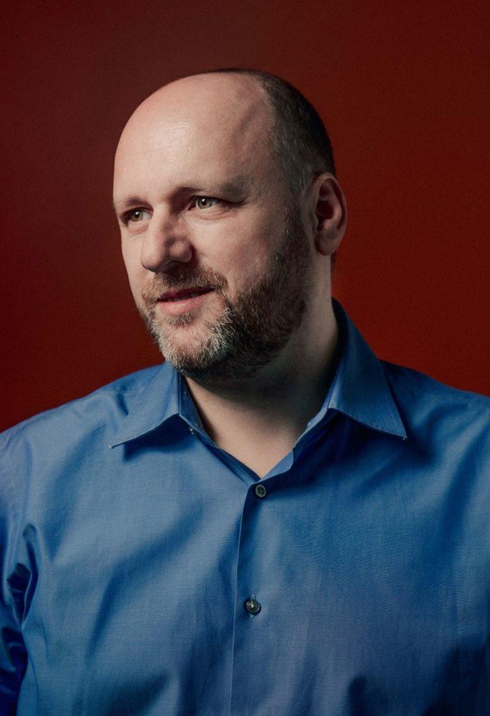 Foto del Game Director David Cage.