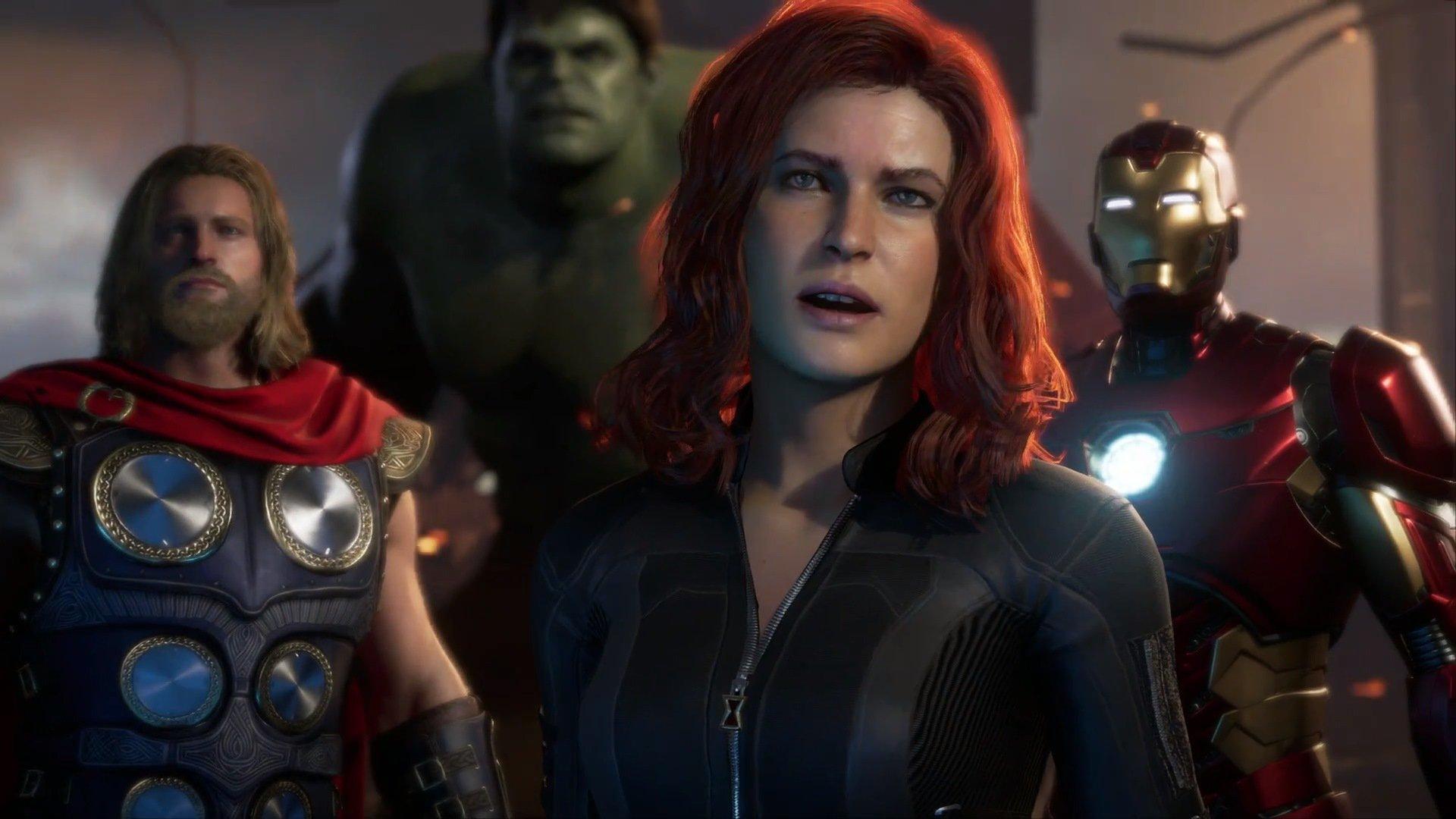 Immagine del nuovo gioco Avengers