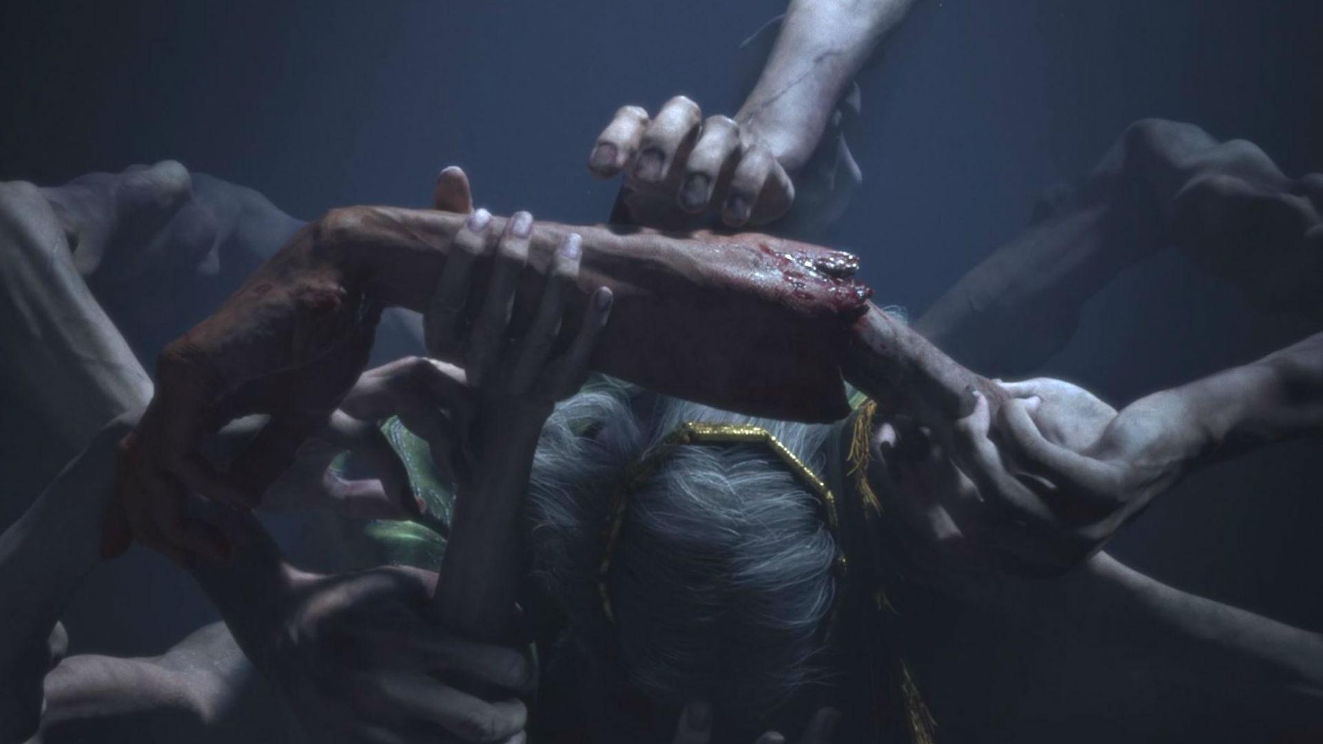 Scena del sacrificio nel teaser di Elden Ring