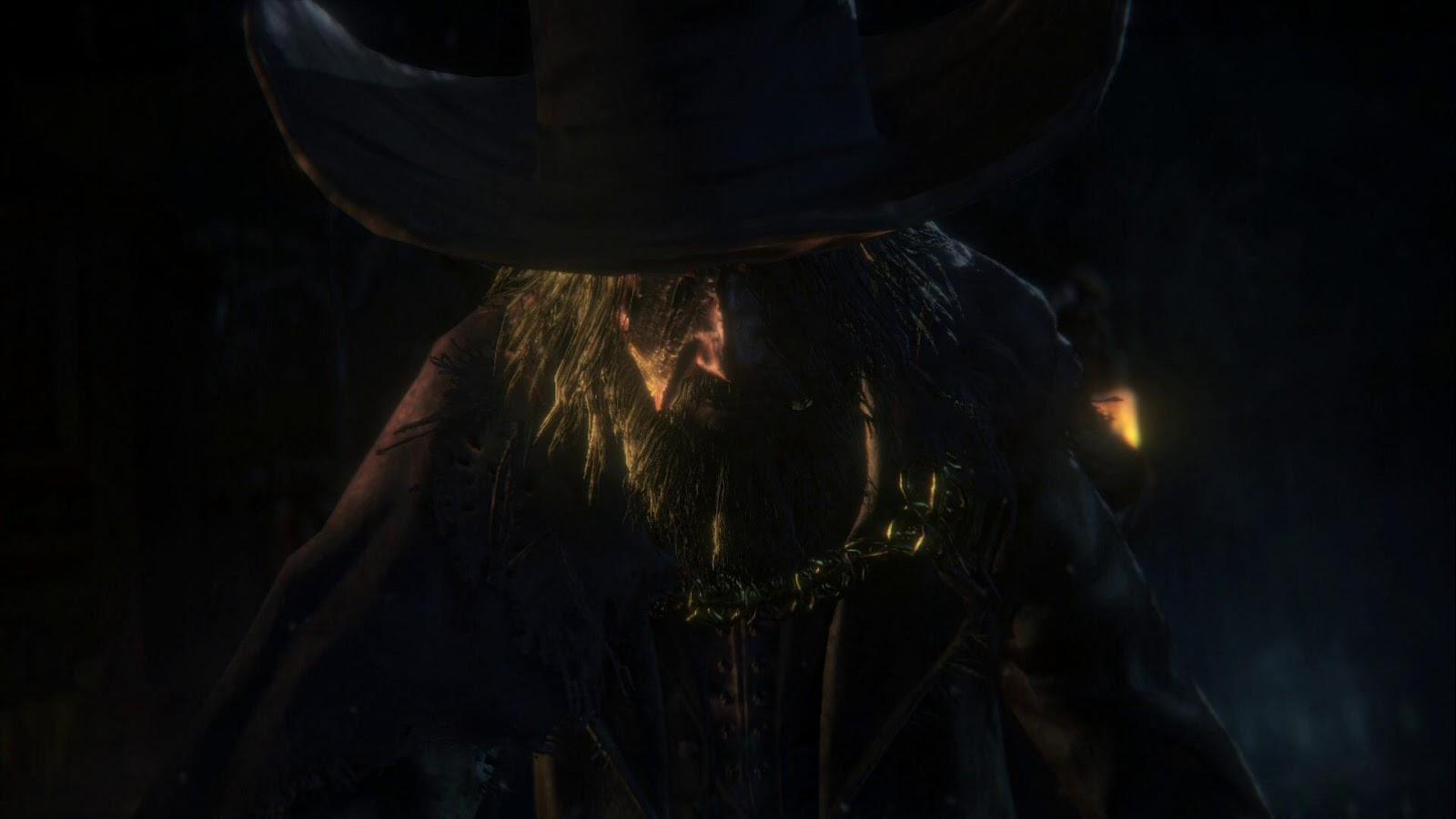 Blood Minister di Bloodborne