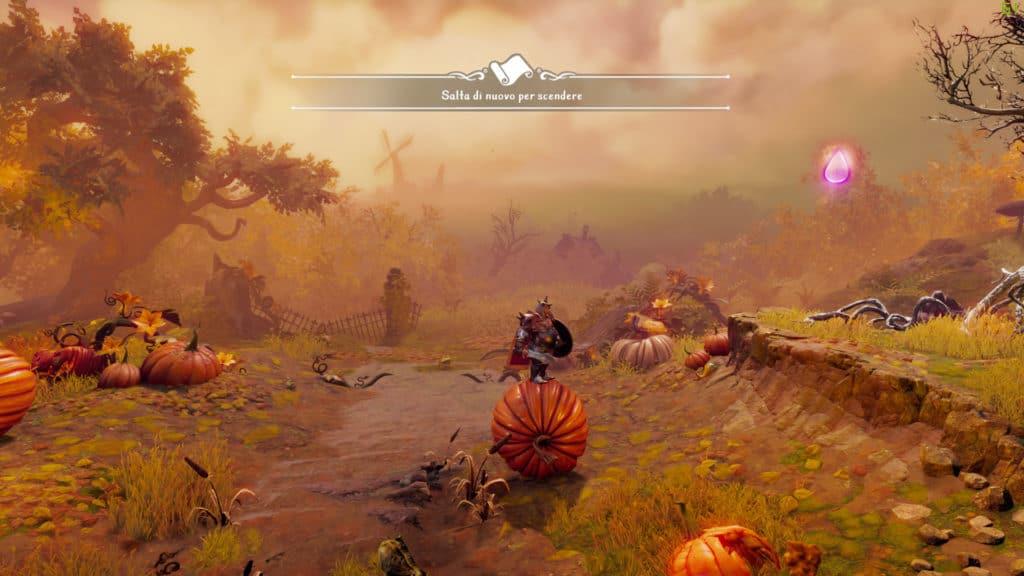 Trine 4 gameplay screenshot 1