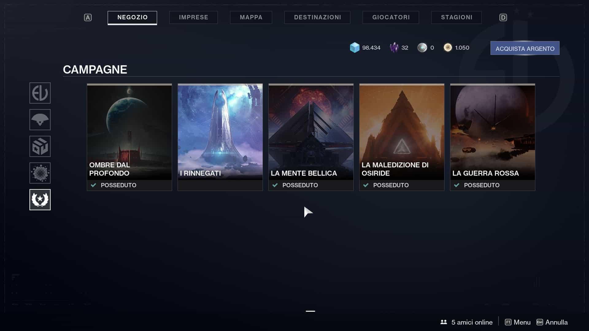 Destiny 2 guida come iniziare, le espansioni