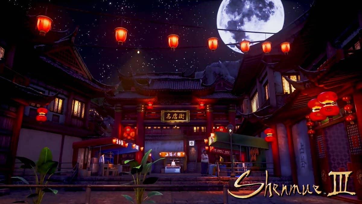 La notte a Niaowu in tutto il suo splendore