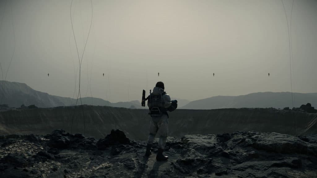 Immagine di gameplay di Death Stranding